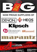 Audio Corp: Now Proud Supplier of Denon, Rotel, Boston, Klipsch