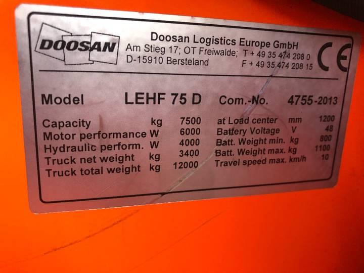 Doosan LEHF 75D Palletwagen - image 6
