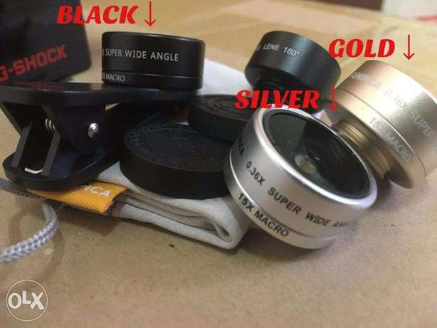 3 in 1 smartphone lens accessory for mobile phone and IPAD