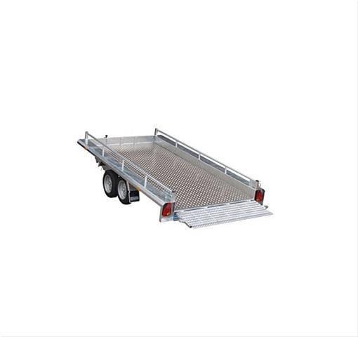 Hapert Indigo LT 2 Multitransporter 4100 x 1840 mm, 3,5 to. kippbar