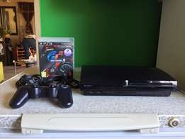 Play Station 3 Slim 250GB + Controller + Game