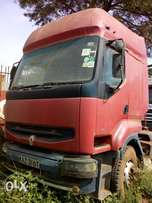 Renault truck and trailer for sale.