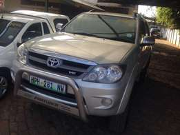 Fortuner 4x4 D4D for sale