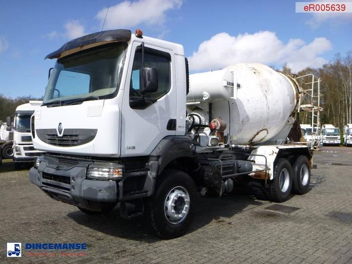 Renault Kerax 380 6x4 Liebherr concrete mixer 7 m3 - 2008