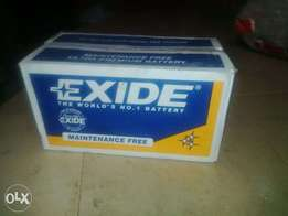 Quality Exide battery up for grabs at an affordable price.