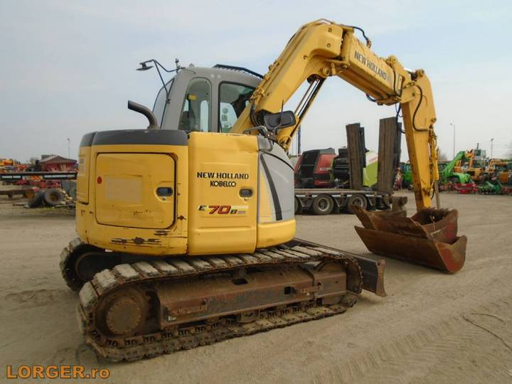New Holland E 70 B Sr - 2008 - image 3