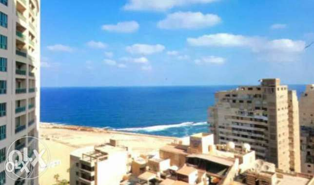 A luxury furnished apartment for rent in four season towers Alexandria