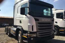 Scania double axle 460 Truck-Tractor