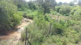 Land for Sale in Gatheri, Nanyuki, with a river frontage