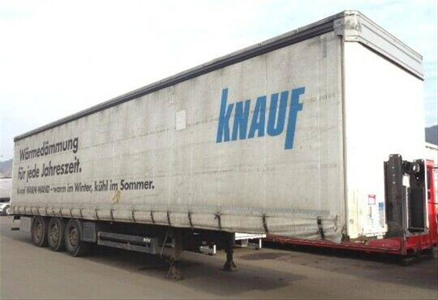 Koegel Orten 2in1 SafeServer/Curtainsider Staplerhalter - 2012