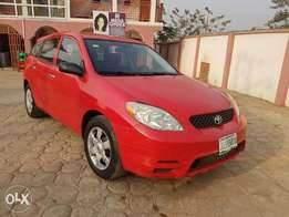 Just like toks Toyota matrix A year used 04