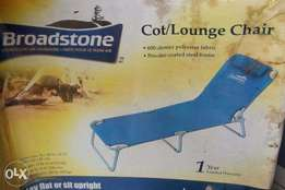 foldable multipurpose lounge, garden, camp and beach bed/chair