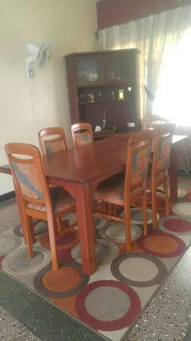 Kenya Dining Table With 6 Seats