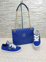 Fashion bag and foot wear(set)