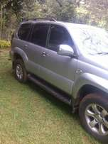Toyota prado 2008 model silver with sunroof & Fully Loaded indeed