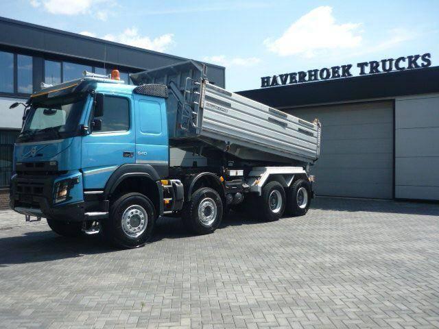 Volvo FMX 540 8x6 Euro 6 3 Side Meiller Tipper - 2014