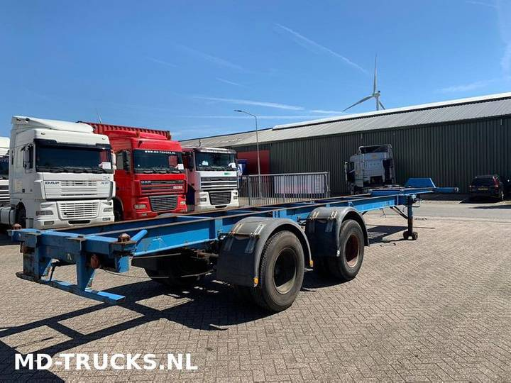 Trailor  container chassis 2 axle - 1970 - image 3