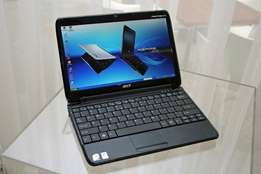 Acer Atom 10.1 inch screen size 160gig sata hard drive 2gigs DDR3 ram