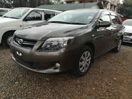 Super Clean Gray Toyota Fielder 2010 model(buy on Hire Purchase).