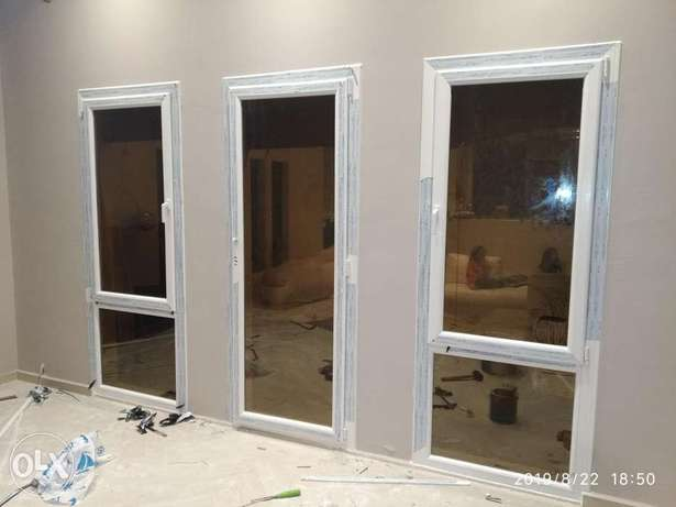 Garman technology UPVC almunium window and door