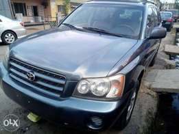 Toks 2005 Toyota Highlander with 3 rows