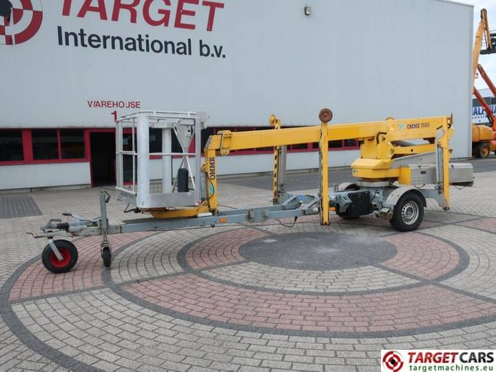 Omme 1550EZX Towable Electric Boom Work Lift 1530cm - 2006