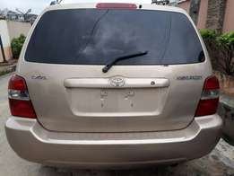 Toyota Highlander 2005 model new arrival