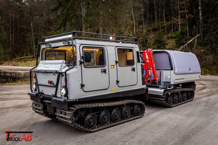 Hagglunds BV206 snow groomer - 2019
