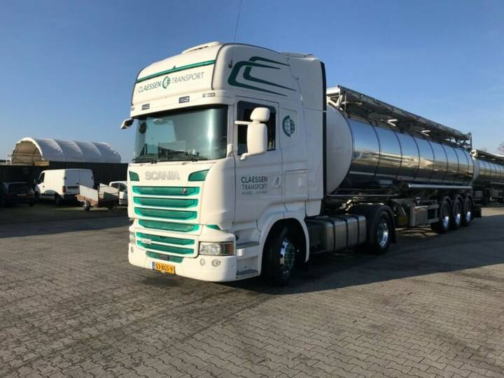 Scania R450 TOPLINE*EURO6*STANDKLIMA*PTO+COMPRESSOR - 2016