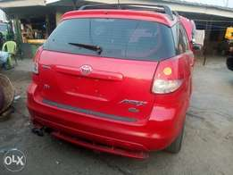 New Tokunbo 2003 Toyota Matrix XR N1.85.m.. Cabana Autos
