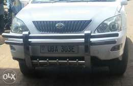 Double bar car front guard