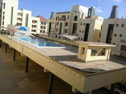 Ultra modern 4 Bed room unfurnished pent house in nyali