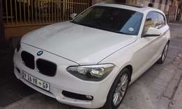 116i BMW 2013 White for Sale In Johannesburg