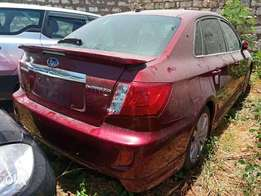 Subaru Anesis Redwine with Spoiler.2010 model. KCP