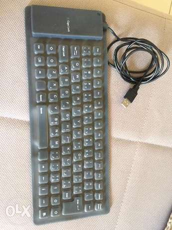 wired keypad and mouse