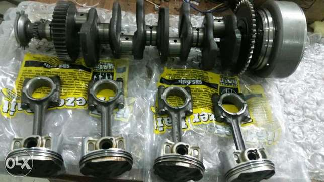 Honda hornet 600 crankshaft very good condition