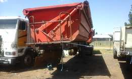 2007 side tipper trailer for sale
