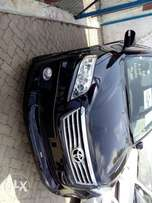Toyota vanguard black Color with roof rails fully loaded