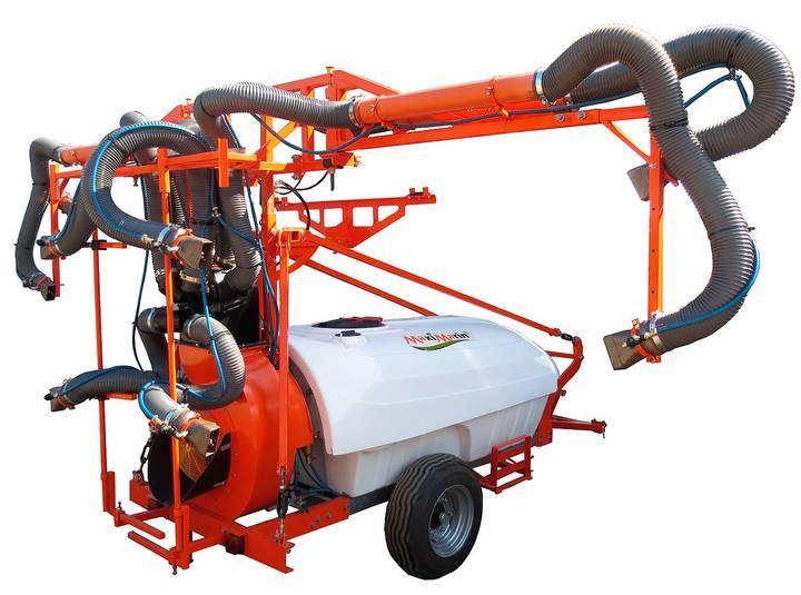 2-row vineyard sprayer MaxiMarin (turbine type) - 2018