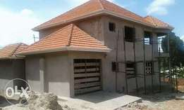 4 bedroom shell house at Nakigalala Kajjansi for sale at 190m Ugx
