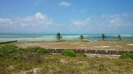 -Watamu malindi beach plot on sale -One Acre White Sand Beach in Mayun