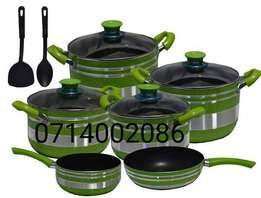 Nonstick cooking pots and sufurias