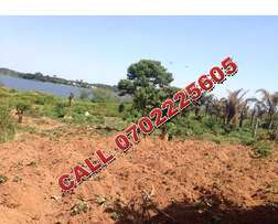 Wonderful 2 acres of beach for sale in Entebbe at 300m each