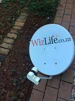 DSTV satellite dish