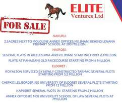 Plots for Sale at Elite Ventures Ltd- Eldoret