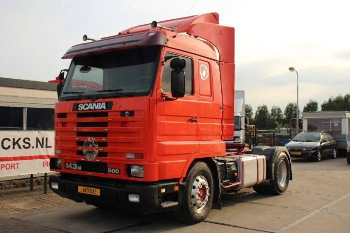 Scania 143.500 airco retarder - 1994