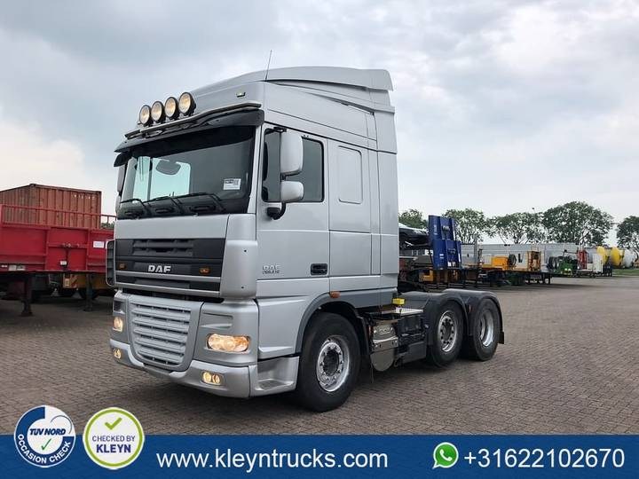 DAF XF 105.510 manual intarder 6x2 - 2011