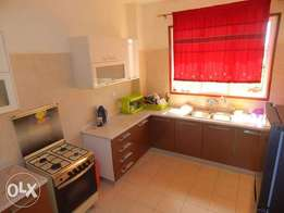 FULLY FURNISHED 3 bedroom modern apartment with Air conditioners