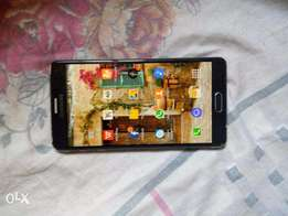 Neat Samsung galaxy note 4 with porch and fingerprint