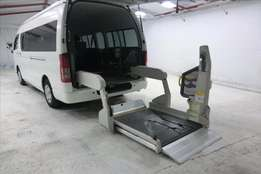 toyota hiace for disabled and ambulance